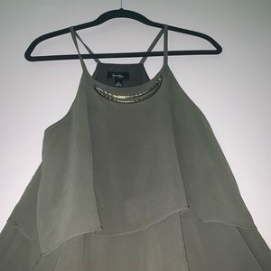 by&by Olive green tank